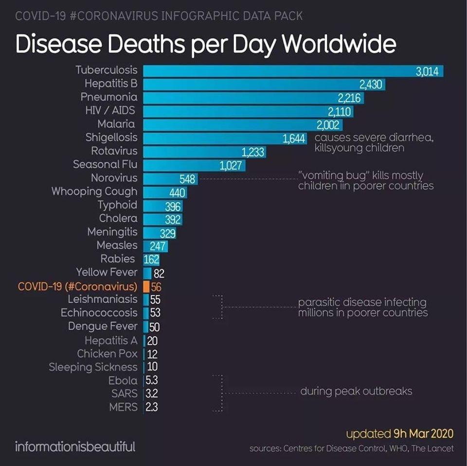 Загадочная статистика коронавируса Covid-19